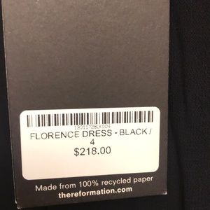 Reformation Dresses - Reformation Florence Dress in Black, size 4